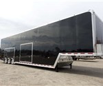 Custom Sized 50' Long Gooseneck Stacker