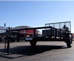 Open Black U.S. Cargo 6.5' x 12' Utility Trailer