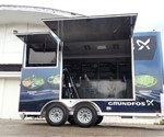 Custom Mobile Marketing and Display Trailer Built For Water Treatment Equipment