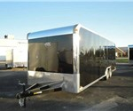 Enclosed Black 8.5' x 24' Motiv Enclosed Car Hauler Trailer