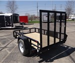 5' x 8' Black Utility Trailer