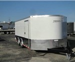 Enclosed Polar White 8.5' x 20' Motiv RSX Car Hauler