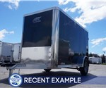 Enclosed Black 5' x 10' Cargo Trailer