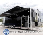 USED 34' Stacker with Living Quarters