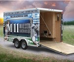 Custom 7.5' x 14' Mobile Gaming Trailer