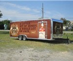 Custom Wrapped Tour Trailer