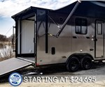18' Toy Hauler with Upgraded Kitchen