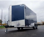 "Enclosed 7' x 14' Cargo Trailer with 30"" Wedge Nose"