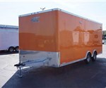 High School Marching Band Equipment Trailer