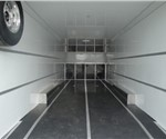 28' Polar White Enclosed Car Hauler for MacNeil Automotive Products Limited