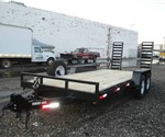 18' Skid-Steer Bobcat Equipment Trailer