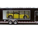 Glass Display Custom Trailer