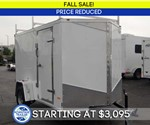 Enclosed 6' x 10' Cargo Trailer (Contractor Package) - Fall Sale!