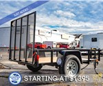 5'x8' Open Utility Trailer by Forest River