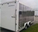 Custom 20' Glass Sided Trailer for Technical College