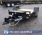 5' x 10' Tilt Bed Equipment Hauler