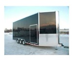27' ATC All Aluminum Car Hauler Stacker Trailer