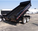 Sure-Trac 14' Dump Trailer with Ramps