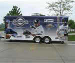 Milwaukee Brewers Concession Trailer