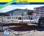 Formula Ghost 5'x8' All-Aluminum Open Utility Trailer