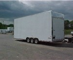 28' Amer-Lite Car Hauler Stacker Trailer