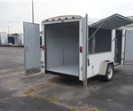USED 6' x 12' Haulin Brand Vending Trailer