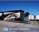24' Custom Polar White Car & Airplane Trailer