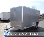 6' x 12' Silver Frost Cargo Trailer