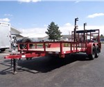 USED Quality Brand 7' x 16' Open Utility Trailer