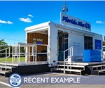 24-foot Experiential Marketing Stage Trailer for Healthcare Brand (Recent Example)