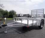 5' x 8' All Aluminum Open Utility Trailer