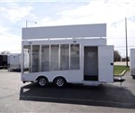 Mobile Bathroom Retrofitting Glass Sided Showroom