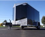 6' x 10' Black Cargo Trailer with Double Rear Swing Doors