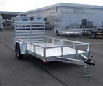 Open Aluminum 6' x 12' Utility Trailer by ATC
