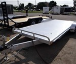 All Aluminum 8.5' x 20' Open Car Carrier