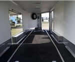 Custom 24' Car Hauler with a 4' Wedge Nose and Wedge Ramp Door