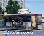 Experiential Marketing Stage Trailer for Mobile Tour