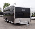 20' Black Enclosed Car Hauler by ATC