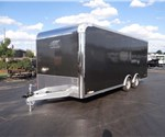 20' Medium Charcoal Enclosed Car Hauler by ATC
