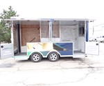 8.5' x 16' Mobile Marketing Solution and Product Display Trailer