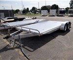 8.5' x 18' All Aluminum Open Car Hauler
