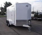 14' Long Custom Enclosed Cargo Trailer