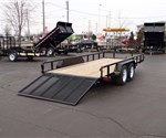 7' x 16' Open Tube Top Utility Trailer