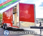 Formula 7'x16' Enclosed Cargo Trailer - Landscape Special!