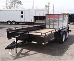 7' x 14' High Side Utility Trailer