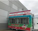 16' Mobile Lottery Ticket Concession Stand