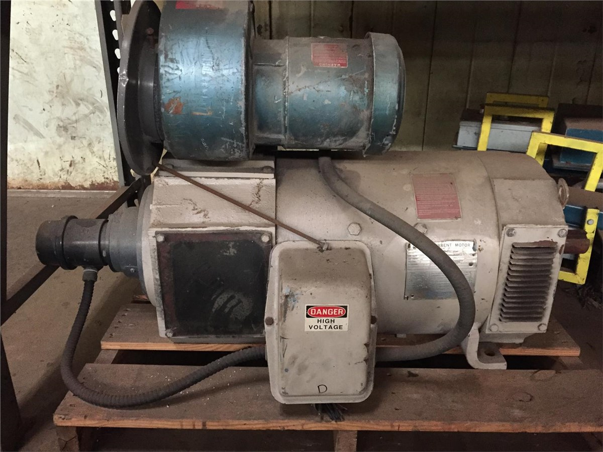 30 hp emerson dc motor 1730 rpm 288at frame 500 volt for 500 hp dc motor