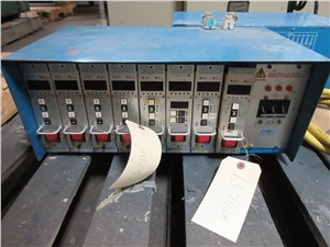 Lot of (2) 8 Zone DME Hot Runner Controllers