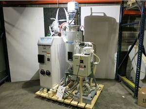 45 CFM Piovan Model DP605 Dryer With Hopper and Loading System
