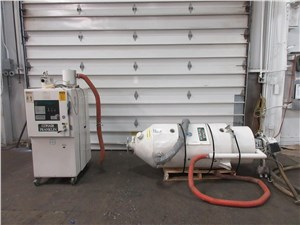 90 CFM Conair Desiccant Dryer Model CD100 With Hopper and Material Loader